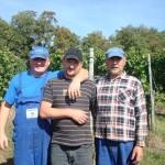 Unsere drei treuen Helfer aus Polen